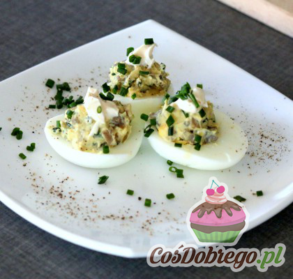 Jajka Faszerowane Pieczarkami 02