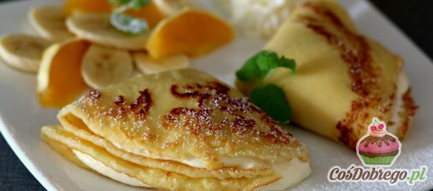 Przepis na Naleśniki z serem i owocami