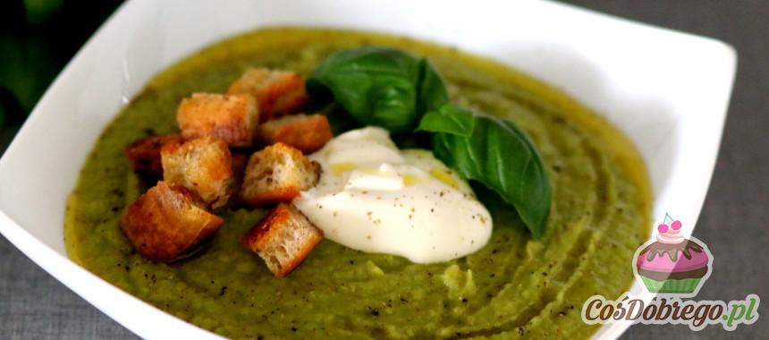 Przepis na Zupę krem z brokułów