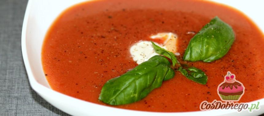 """Przepis na Zupę pomidorową, tradycyjna """"pomidorówka"""""""