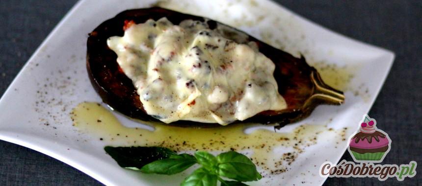 Przepis na Bakłażany faszerowane mięsem mielonym