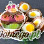 Przepis na Przekąskę z mięsem mielonym i jajkiem