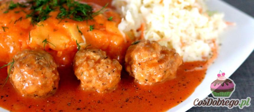 Przepis na Pulpety w sosie pomidorowym