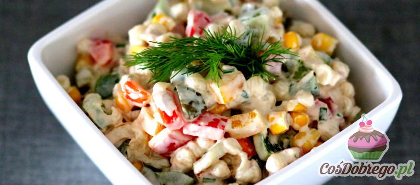 Przepis na Sałatkę z makaronem i tuńczykiem