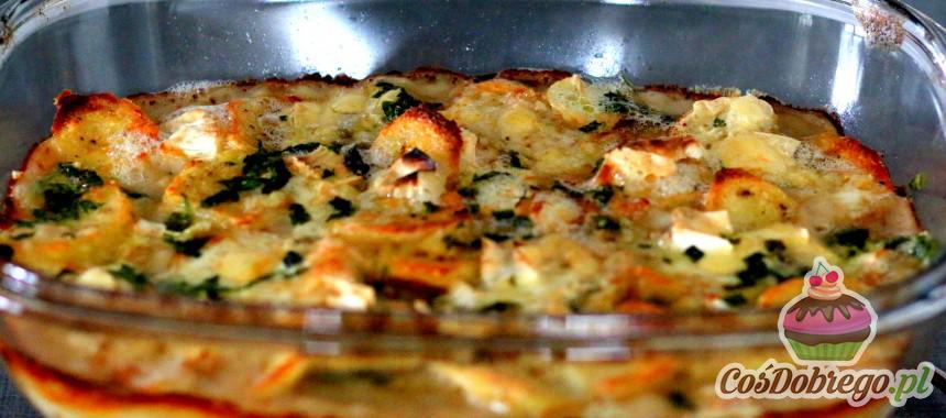 Przepis na Zapiekankę ziemniaczano-serową