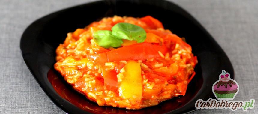 Przepis na Leczo z ryżem