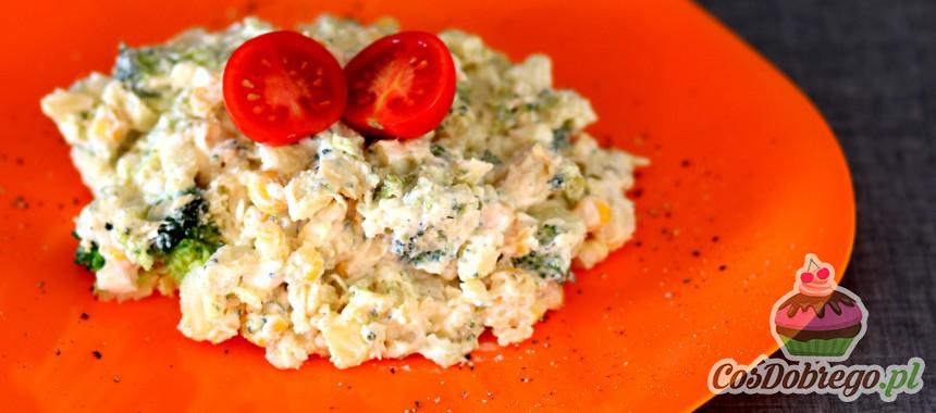 Przepis na Sałatkę ziemniaczaną z brokułami