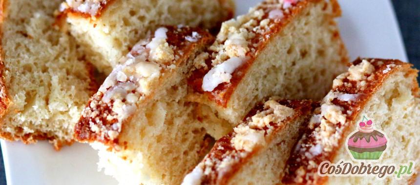 Przepis na Ciasto drożdżowe z kruszonką
