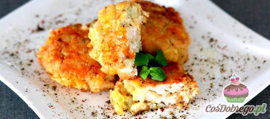 Przepis na kotlety z kurczaka z żółtym serem
