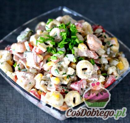 Salatka Z Pierozkami 02