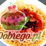 Przepis na Spaghetti z szynką w sosie pomidorowym