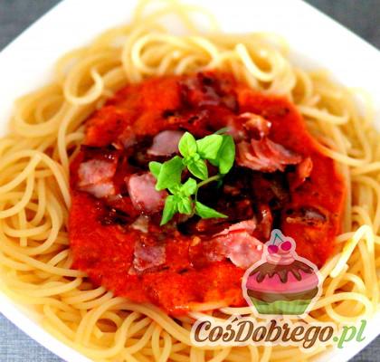 Spaghetti Z Szynka 02