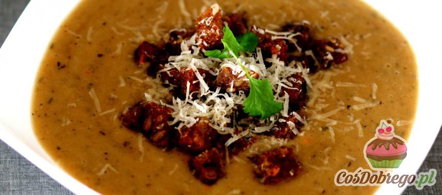 Przepis na Zupę krem z cebuli