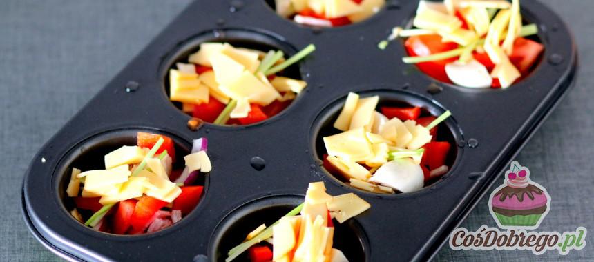 Przepis na Wiosenne babeczki z warzywami