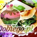 Przepis na Naleśniki ze szpinakiem i serem feta