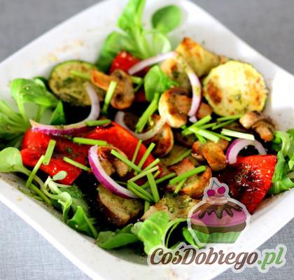 Salatka Z Grillowanych Warzyw 02