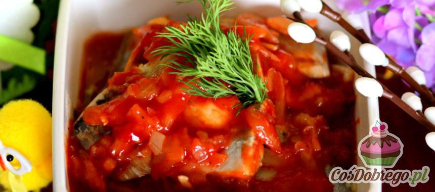 Przepis na Śledzie w pomidorach