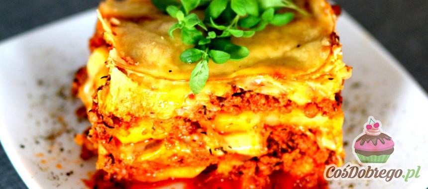 Przepis na Zapiekankę z mięsem mielonym i ziemniakami