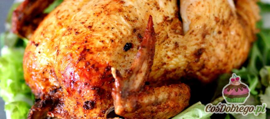 Przepis na Kurczaka pieczonego na butelce z piwem