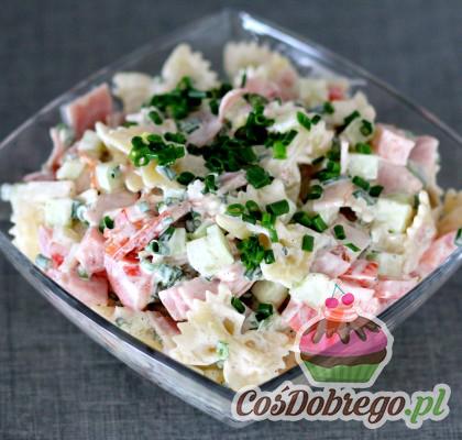Salatka Z Szynka I Makaronem 02