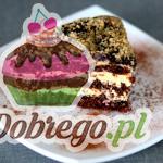 Przepis na Tort czekoladowo - orzechowy