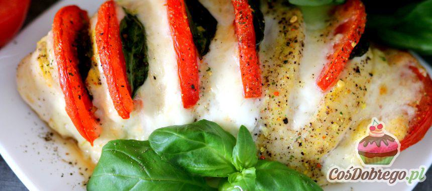 Przepis na Piersi z kurczaka nadziewane mozzarellą