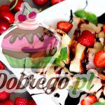 Przepis na Pierogi z truskawkami i polewą czekoladową