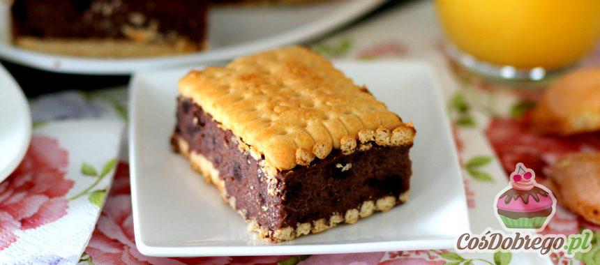 Przepis na Czekoladowe ciasto na zimno