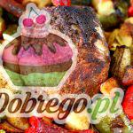 Przepis na Pieczoną wieprzowinę z warzywami
