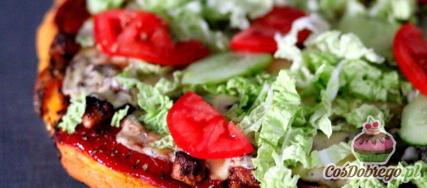 """Przepis na Pizzę """"Kebab"""""""