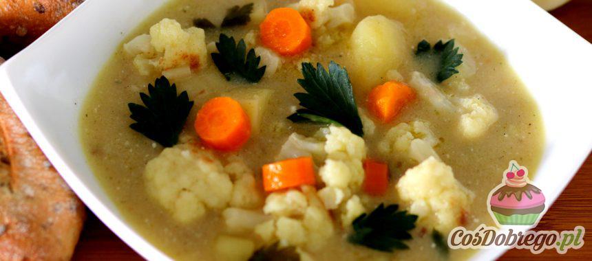 Przepis na Zupę kalafiorową