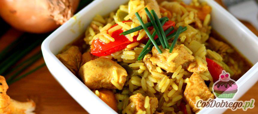 Przepis na Kurczaka z ryżem w curry