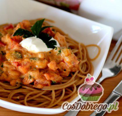 Spaghetti Z Warzywami 01