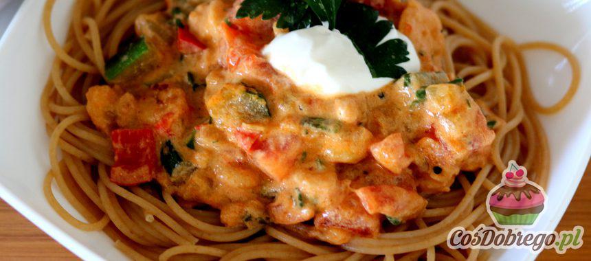 Przepis na Spaghetti z warzywami