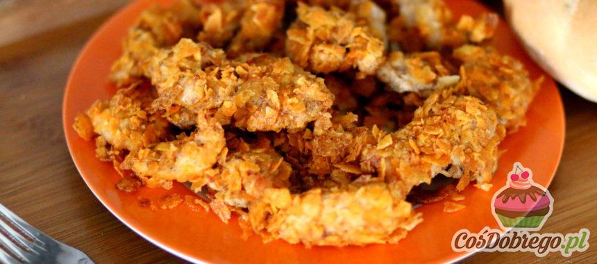 Przepis na Piersi z kurczaka pieczone w chipsach