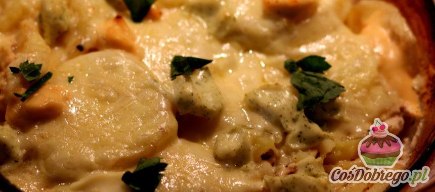 Przepis na Pieczone ziemniaki z serem