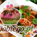 Przepis na Spaghetti w sosie pomidorowo-bazyliowym