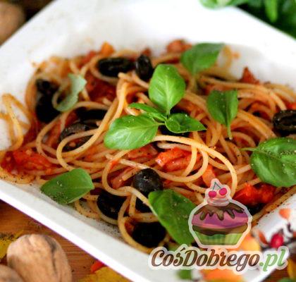Spaghetti W Sosie Pomidorowo Bazyliowym 02