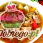 Przepis na Zupę gulaszową z wieprzowiny
