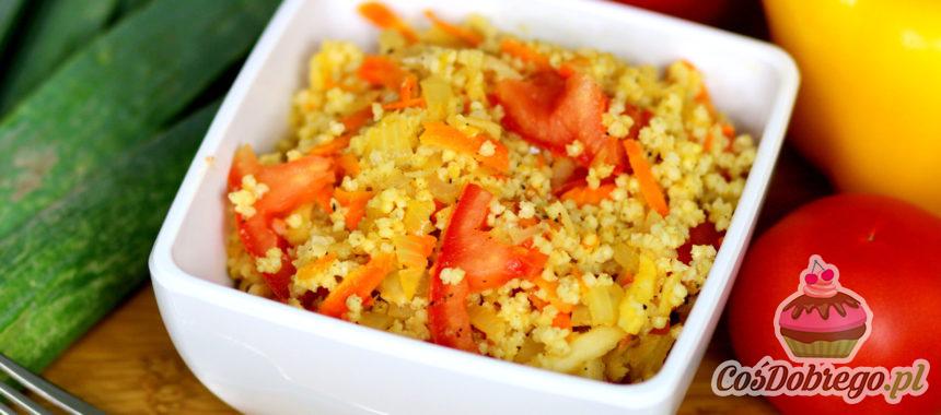 Przepis na Kaszę jaglaną z warzywami