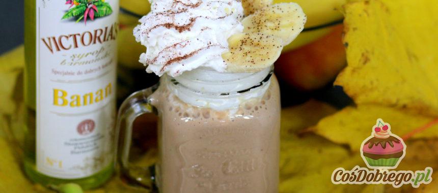 Przepis na Bananowy koktajl z serkiem waniliowym