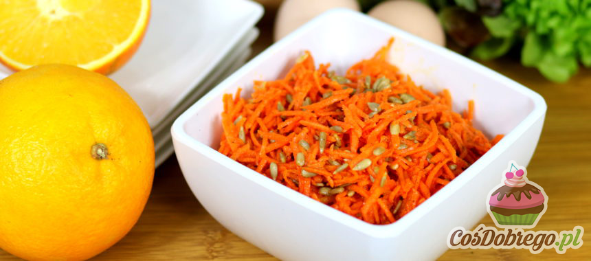 Przepis na Surówkę z marchewki