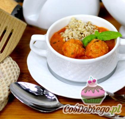Drobiowe Pulpety W Pomidorowo Jogurtowym Sosie 01