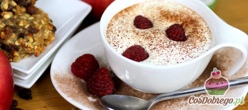 Przepis na Aromatyczną kawę z białą czekoladą