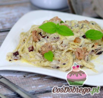 Spaghetti Z Tunczykiem W Sosie Smietanowo Jogurtowym 04