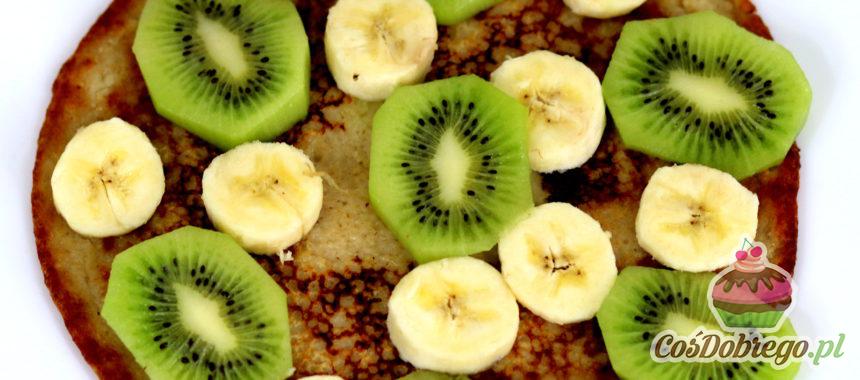 Przepis na Owsiane naleśniki z owocami