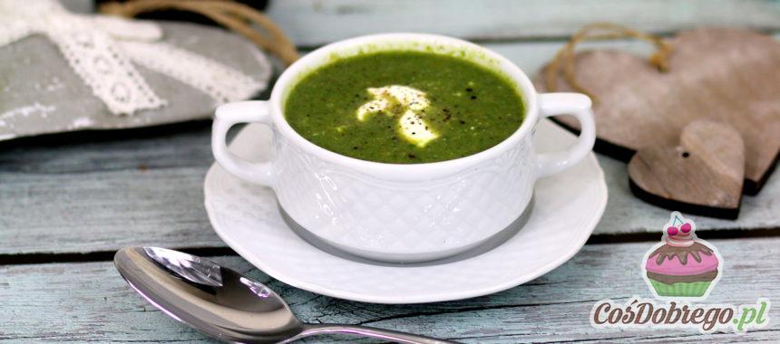 Przepis na Zupę krem ze szpinaku