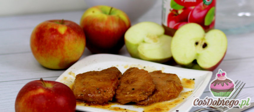 Przepis na Schab w soku jabłkowym