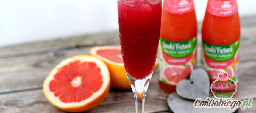 Przepis na Wiśniowo-grejpfrutowego drinka