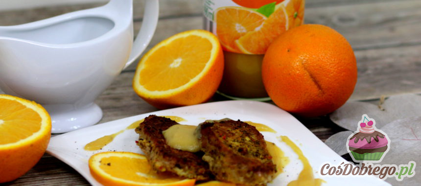 Przepis na Schab w soku pomarańczowym